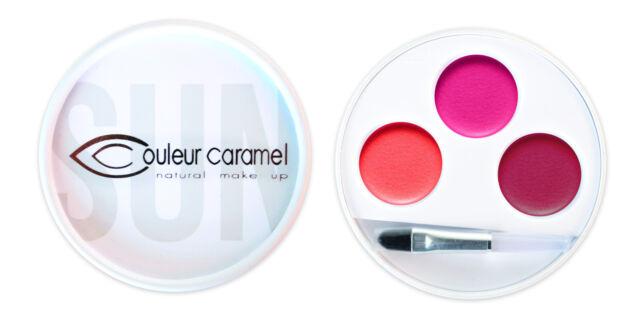 Couleur Caramel - Palette 3 rouges à lèvres Massai n° 32 Bio - Série limitée