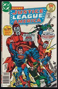 Giant-DC-JUSTICE-LEAGUE-OF-AMERICA-141-JLA-HIGH-GRADE-Superman-Manhunters-1977