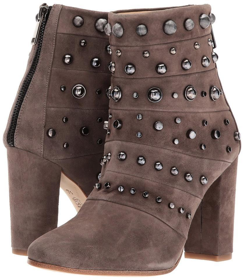 nyA Badgley Mischka Taupe Kurt mocka Studerade ankle ankle ankle stövlar, kvinnor Storlek 5,  495  försäljning online