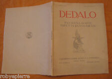 DEDALO RASSEGNA d'arte UGO OJETTI TUMMINELLI BESTETTI settembre 1921 anno II f 4