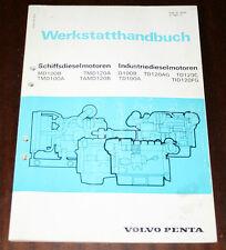 Werkstatthandbuch /Reparaturanleitung Volvo Penta Diesel Motor, Stand 1981