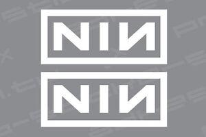 Nine Inch Nails Nin Sin Logo Car Window Laptop Guitar Vinyl Decal Stic Kandy Vinyl Shop