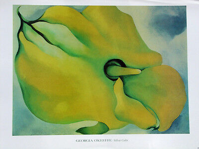 Georgia O/'Keeffe Jimson Giclee Canvas Print Paintings Poster LARGE SIZE