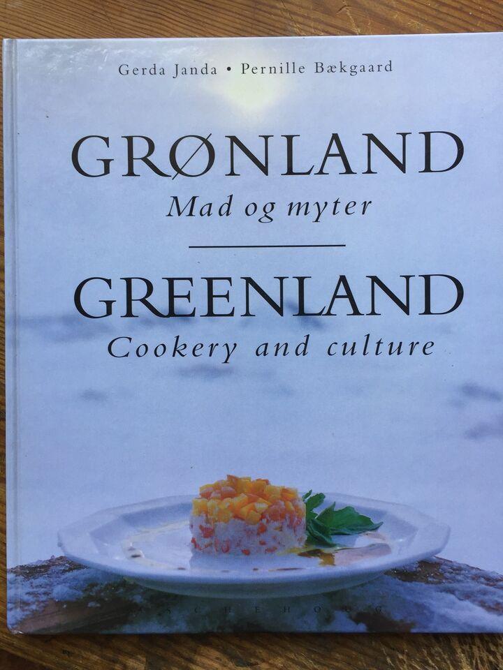 GRØNLAND - Mad & Myter - 96 s - 1996, Janda & Bækgaard, emne: