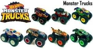 Hot Wheels Monster Trucks 1:64 Collection Ages 3+ CHOOSE ...