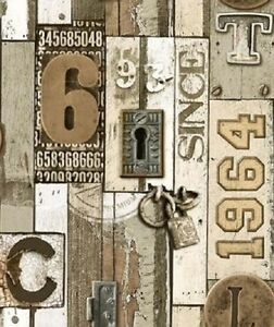Image Is Loading Old Rustic Fence Panel Number Plates Pad Lock