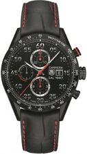 CV2A81.FC6237 Tag Heuer Carrera CAL 16 Mens Watch Black Chrono titanium carbide