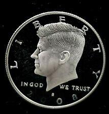 2008 S 50c Kennedy Silver Half Dollar US Coin Choice Proof
