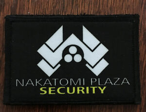 Die-Hard-Movie-Nakatomi-Plaza-Morale-Patch-Tactical-Military-Army-Flag-Hook-USA