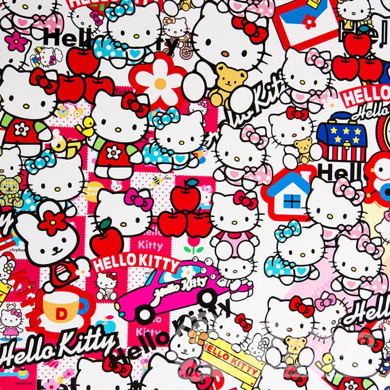Autocollant Bombe Hello-Kitty Film de Voiture 3D Emballage Voiture