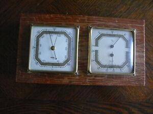 rarität über 50 Jahre alter  Barometer mit Thermometer % F der Fa. Fischer