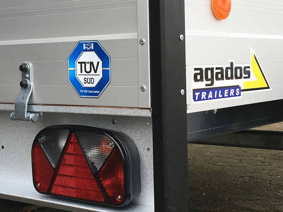 Tilbud på Agados ALUX 205 - Indvendig bredde 12...