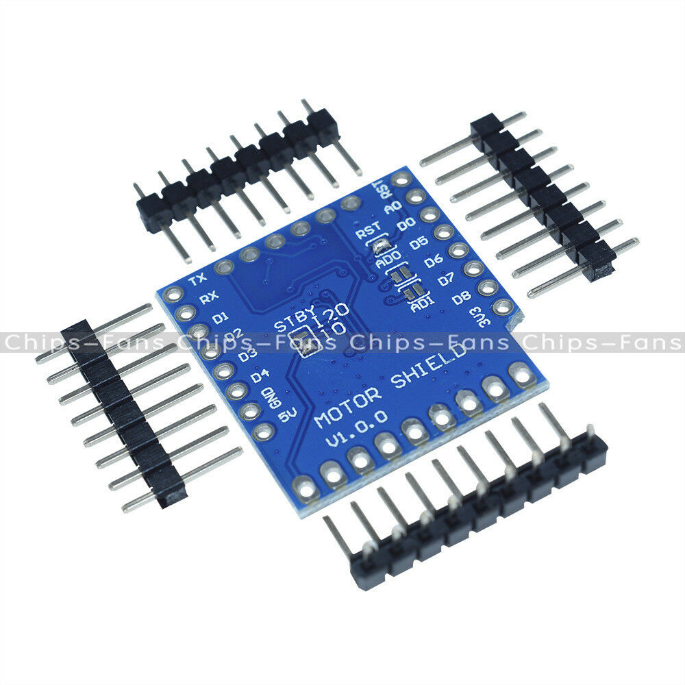 Wemos D1 Mini I2c Dual Motor Driver Shield Module Tb6612fng Miniature Modules Norton Secured Powered By Verisign