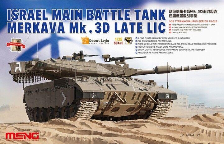 Meng 1 35 Merkava Mk.3D Late LIC TS-025