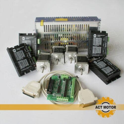 ACT Motor GmbH 4Axis Nema17 Stepper Motor 17HS5413 Schrittmotor 1.3A 48mm 52Ncm