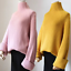 thumbnail 8 - Women-039-s-Knitwear-Turtleneck-Sweater-Loose-Long-Sleeve-Pullover-Jumper-Baggy-Tops