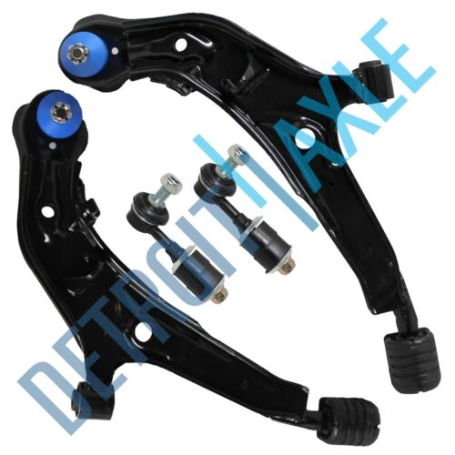 for 1995-1999 Nissan Maxima Front Lower Control Arm Ball Joint Sway Bar Set