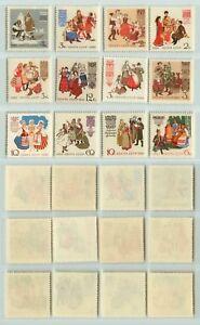 Russia-USSR-1961-SC-2418-2426-MNH-rt5566