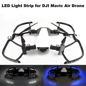 Ultra-Bright-Night-Flying-LED-Lamp-Strip-Light-Cruise-DJI-Mavic-Air-White-Blue