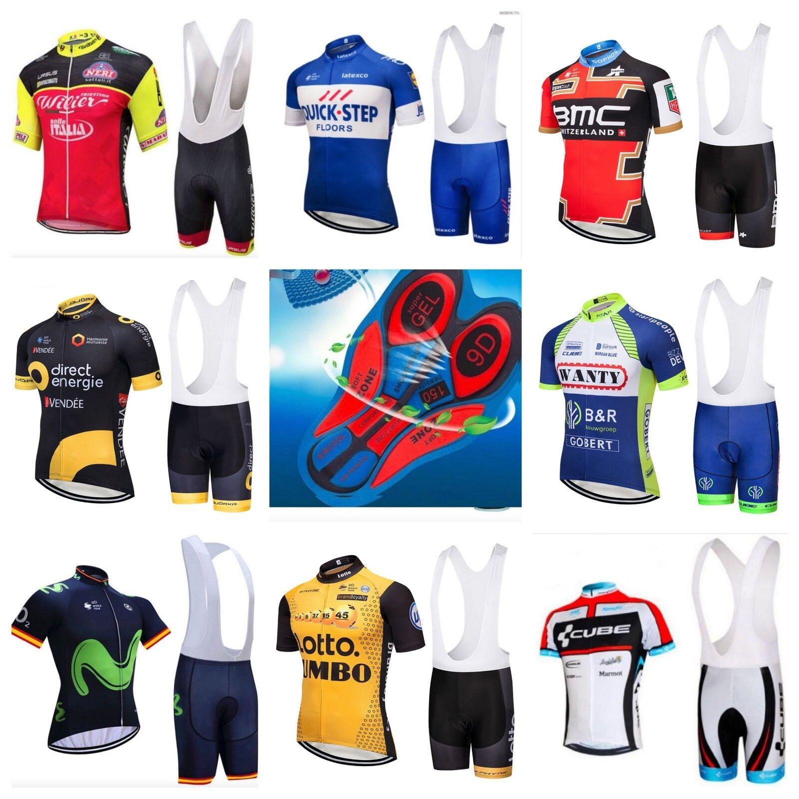 Completo Ciclismo estivo Gel 9D abbigliamento set