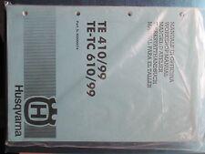 HUSQVARNA WORKSHOP BOOK    TE TC  SMR 610 410