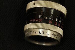 Kern Pizar 5,5mm f 1,9 D mount