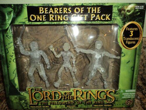 LORD OF THE RINGS BEARERS TWILIGHT FRODO BILBO GOLLUM ACTION FIGURE TOY BIZ