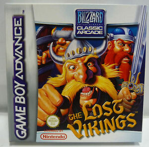 THE-LOST-VIKINGS-GAME-BOY-ADVANCE-GAMEBOY-NINTENDO-GBA-NEW-NUOVO