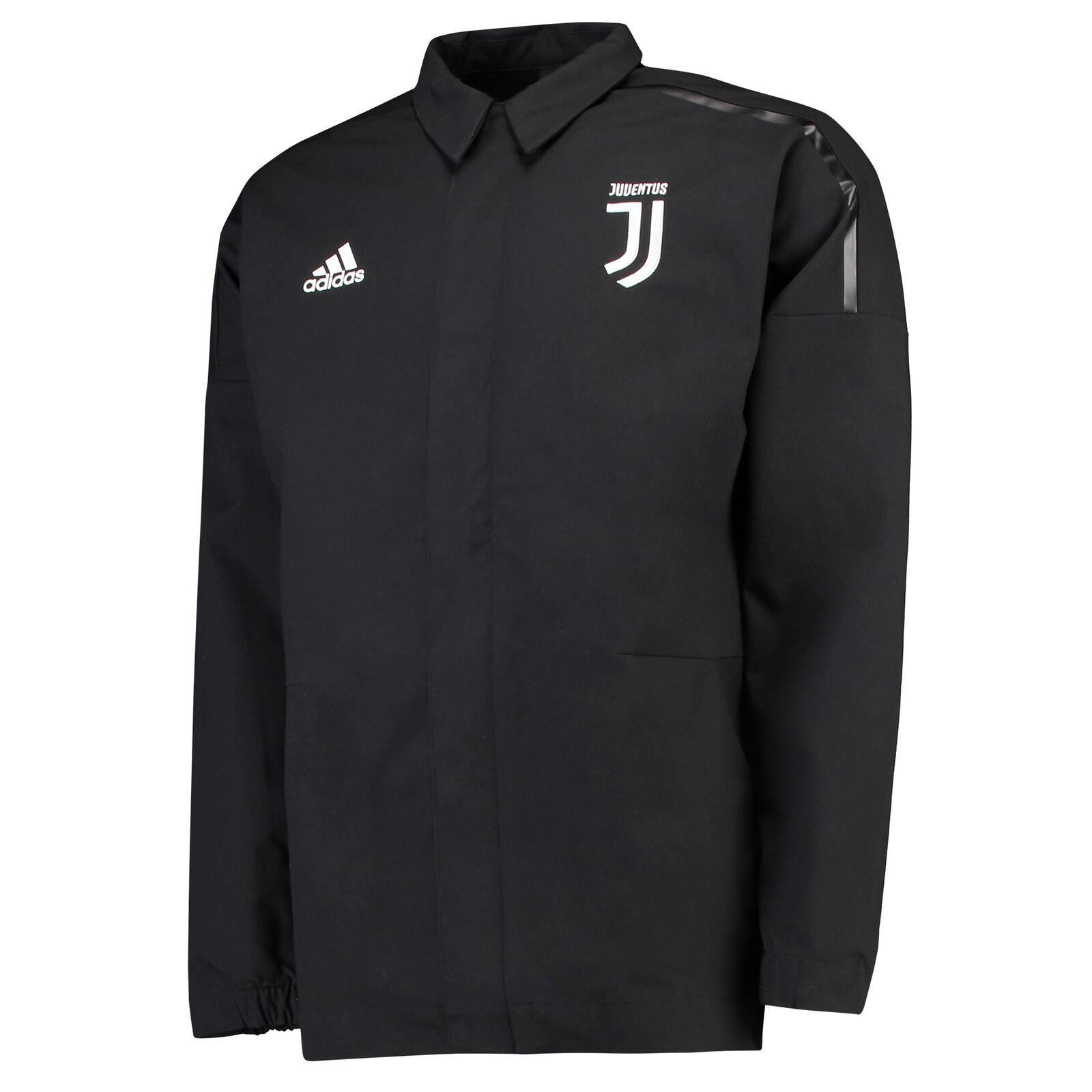 Juventus Fußball ZNE Woven Anthem Jacke Schwarz Sportjacke Top Herren adidas