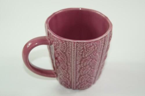 Opal House Pink//Purple Woven Mug Brand New {B84}