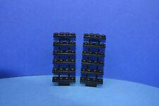 LEGO 2 x Treppe Leiter 30134 schwarz 7x4x6 3182 7894 10188 6762   black stair
