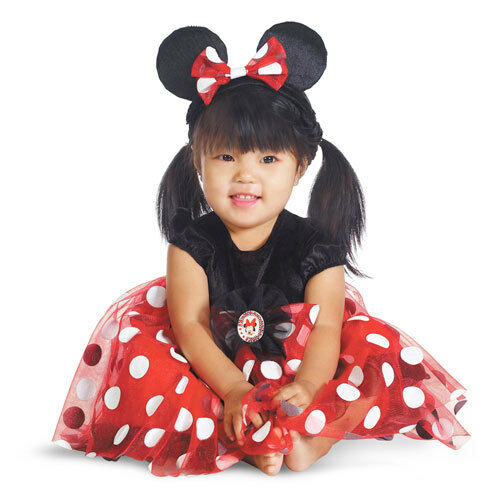 Red Minnie Mouse Disney Infant//Toddler Costume