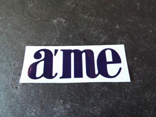 a/'me sticker old school bmx