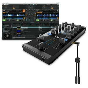 Native Instruments Traktor Kontrol Z1 DJ Controller & Traktor DJ Splitter Cable