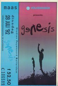 GENESIS-WE-CAN-039-T-DANCE-1991-US-CD-CONCERT-TICKET-ROTTERDAM-28-JULI-1992