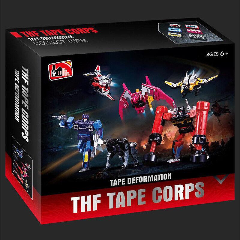G1 THF Transformation Soundwave Six Tape Troop Limit KO