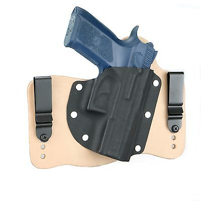 FoxX Holsters Leather /& Kydex IWB Magazine Carrier Holster Beretta PX4 Storm 9mm