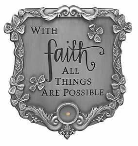 MUSTARD-SEED-Visor-Clip-With-Faith-All-Things-Are-Possible-by-AngelStar-7271