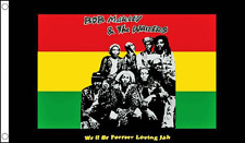 BANDERA BOB MARLEY  Bob Marley and The Wailers Flag Flag 90X150 CMS