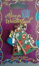 pins disney alice wonderland cartes card Paint LE