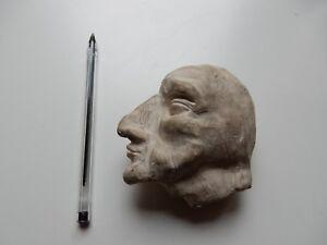 Punchinello M. Punch époque 1880 Maure Clay - Sculpture De Tête Marionnette