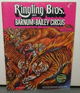 RINGLING BROTHERS AND BARNUM & BAILEY CIRCUS 101TH EDITION 1972