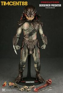 Ready-Hot-Toys-MMS130-Predators-1-6-Berserker-Predator-Figure-14-034-New
