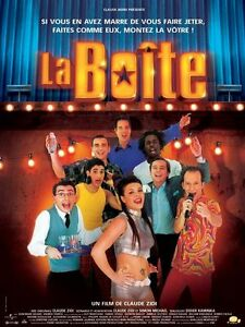 Affiche-40x60cm-LA-BOITE-2001-Claude-Zidi-William-Kinganga-Iazouguen-BE