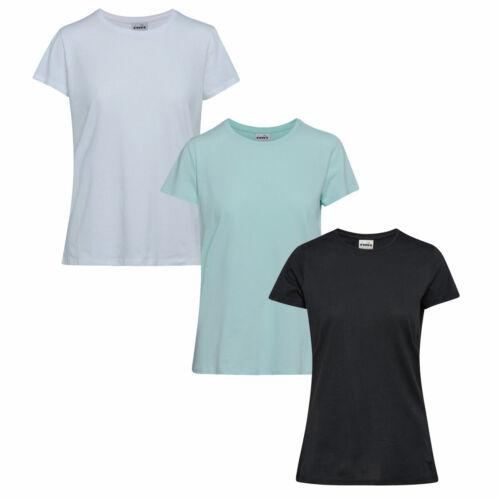 T-SHIRT CORE 2019 Damen Laufshirt Fitness Trainings Shirt 102.174286 DIADORA L