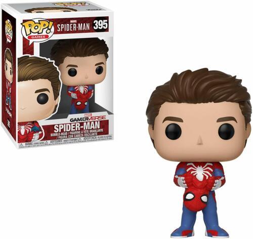 BOX DAMAGED Funko 30633 Games Spider Man Unmasked Pop Vinyl Figure 395