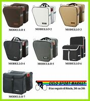 Bag Double Rear For Bicycle - Choose Il Model E Color