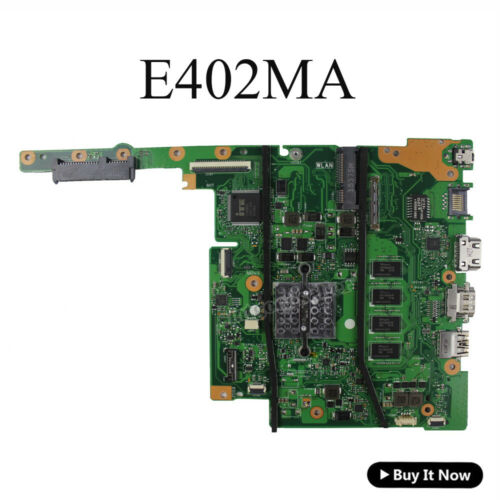 """FOR ASUS E402M E402MA Motherboard W// Celeron N2840 2.16 GHz 4GB Mainboard 14/"""""""