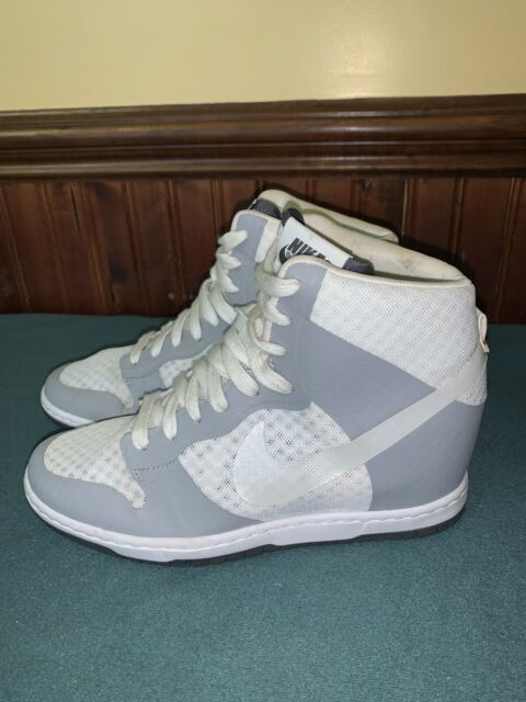 relajarse Islas del pacifico Mono  Nike Dunk Sky Hi High Size 11 Wedge SNEAKERS Athletic Shoes 528899 011 for  sale online | eBay