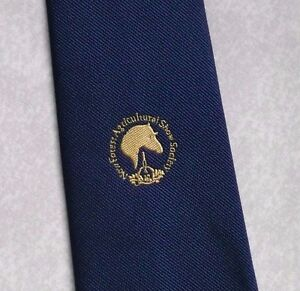 Vintage-Tie-MENS-NEW-FOREST-AGRICULTURAL-SHOW-SOCIETY